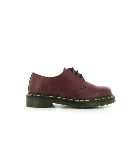 dr martens 1461 59 cherry red smooth
