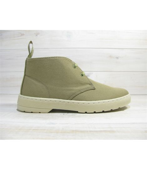 dr martens mayport olive grey overdyed twill