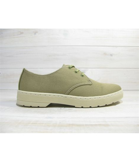 dr martens delary olive grey overdyed twill
