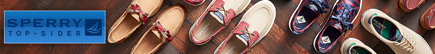 sperry top sider boat shoes - jackson universal